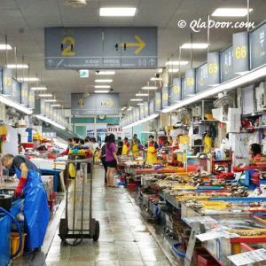 釜山チャガルチ市場おすすめの店と食堂&営業時間!ウニやタコなど値段は?