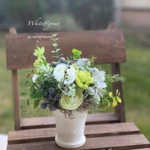 先日のリクエストレッスンはお友達からのご依頼の花器お持込みで