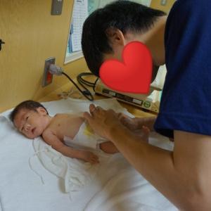 【GCU】修正37週、退院に向けて育児練習。最後の検査、頭部MRI。