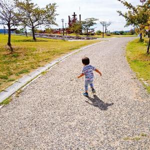 公園の季節再来♡公園遊びの中での息子の成長にほっこり。