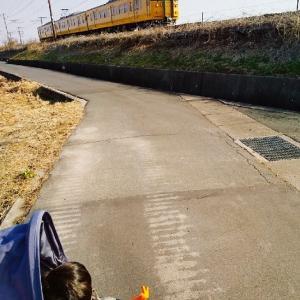 ベビーカーで電車を見る日々✽
