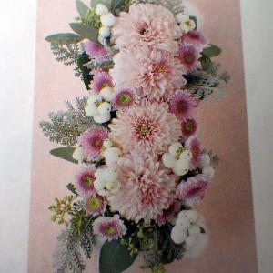 菊の魅力~ポンポン菊のコサージュ&髪飾り制作中