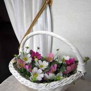 「再販」秋桜のコサージュをCreemaに出品