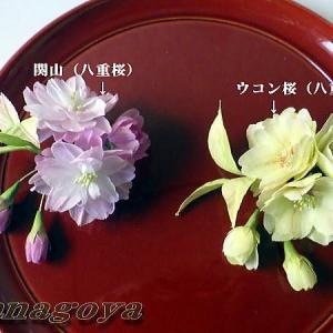 「再販」八重桜のコサージュCreemaに出品