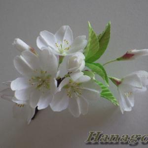 リアル!大島桜のコサージュCreemaに出品です