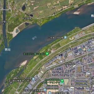 航空写真を見ながら淀川のポイントを分析してみた。
