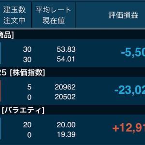 8月26日の結果+67,014円