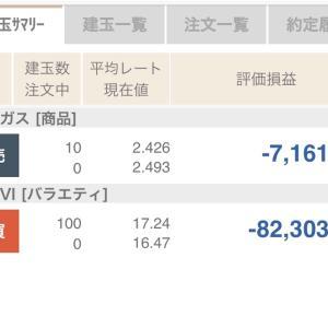 9月6日の結果+75,517円💰
