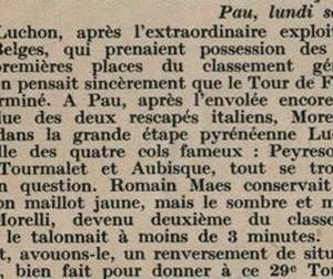 Le Miroir des Sports 1935/7/25 ル・ツール特集 その4