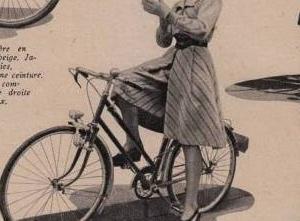 春の自転車ファッション マリークレール 1943年 その3