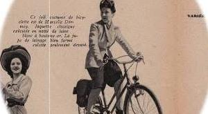 春の自転車ファッション マリークレール 1943年 その5 マルセル・ドルモイ