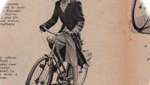 春の自転車ファッション マリークレール 1943年 その6 ブリュイエール