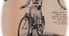 春の自転車ファッション マリークレール 1943年 その7 モリヌー