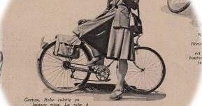 春の自転車ファッション マリークレール 1943年 その8 ギャルヴェン