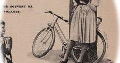 春の自転車ファッション マリークレール 1943年 その10 ニナ・リッチ