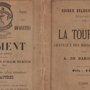 トゥレーヌ自転車ガイド 1895年
