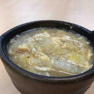 トロトロ白菜スープで温まる