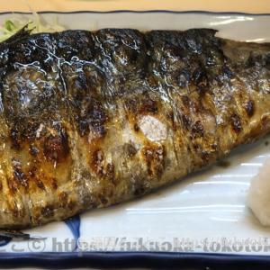 福岡で焼きサバ定食ならここで間違いない!絶品鯖の一枚焼き/『真』