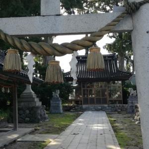 【富山】砺波市安川・日吉神社のスギ