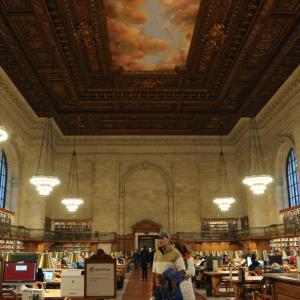 【アメリカ:ニューヨーク②】NY公共図書館とタイムズスクエア