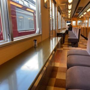 近鉄観光列車「つどい」の足湯列車に乗る