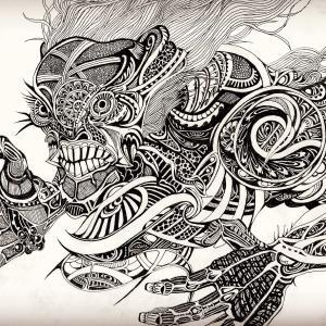 【新作】ペン画で妖怪描いってみったよー!