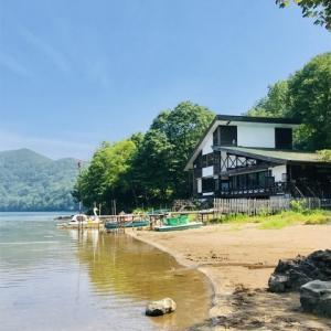 登別白老*(2019年8月)登別温泉から車で15分 で行ける、透明度日本2位の湖「倶多楽湖(クッタラ湖)」