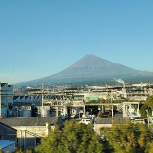 今週の富士山 新富士駅 富士宮市