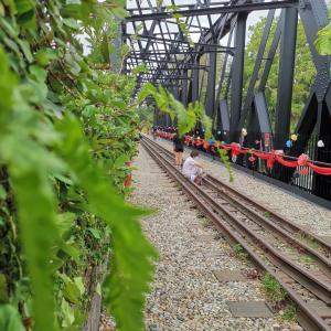 マレー鉄道見学とマカロンのようなジェラート
