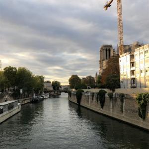 パリに到着