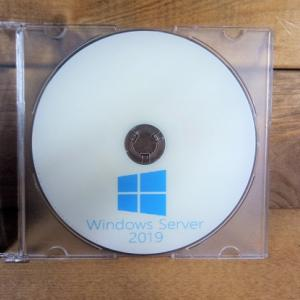 WindowsServer2019インストールメディア準備