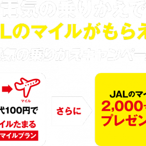 【電気料金でJALマイル】九電みらいエナジー 電力自由化 電気会社比較 電気の乗りかえ JALマイラー