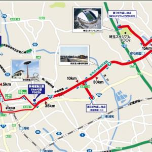 チーム練習 8回目(2019/09/12)埼玉県:さいたま国際マラソン試走(36km)