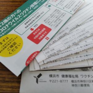 【横浜市】ワクチン接種券が届いた(´・ω・`)