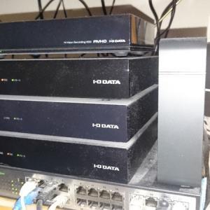 長野の録画系を一部入れ替えました