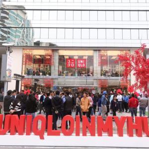 ユニクロがインド・グルガオンに2号店オープン!開店初日のUNIQLOに直撃!