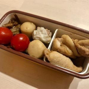 細マッチョと今日のお弁当