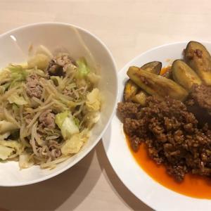 中華風晩御飯と先生のヒゲ