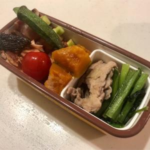 筋トレと今日のお弁当