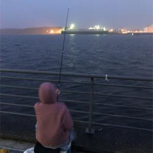 初めての夜釣り