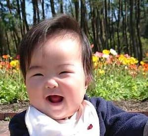 ワンレン赤ちゃん。