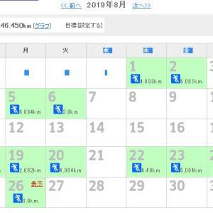 【ジョギング】8月結果と9月の目標
