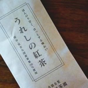 うれしの紅茶【梶原製茶園】と、スコーン【自家製】