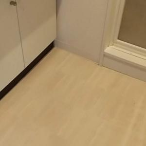 【DIY】洗面所の床