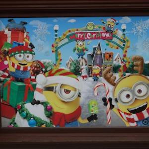 クリスマスのミニオン・パーク
