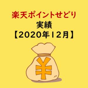 楽天ポイントせどり2020年12月の実績【購入金額・利益率】