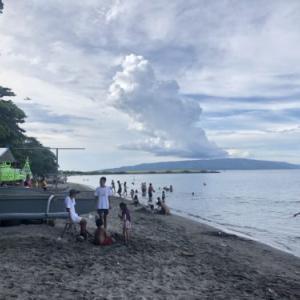 シリマンビーチ|ドゥマゲッティ市内の庶民ビーチ