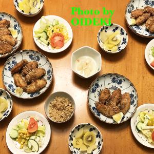 夕飯ですよ〜〜〜