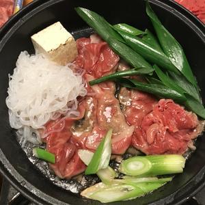 夕飯ですよ|松坂牛すき焼き♡