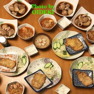 夕飯ですよ|里芋とイカの煮物